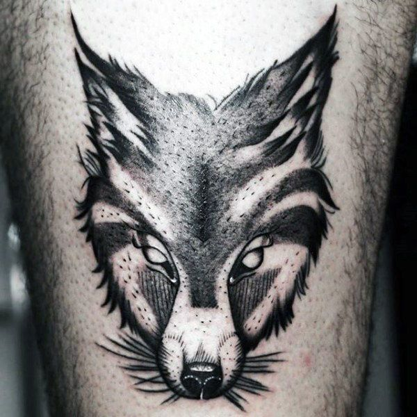 Cooltop Tattoo Trends Crafty Black Fox Head Tattoo Mens Arms Fox Tattoo Fox Tattoo Design Animal Tattoos For Men