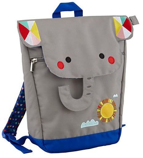 How cute is this elephant backpack!
