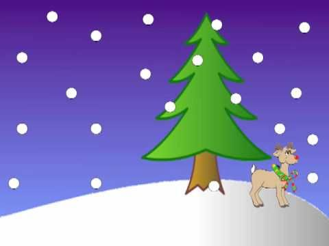 5 Little Reindeer Song Teach Teaching Videos Christmas