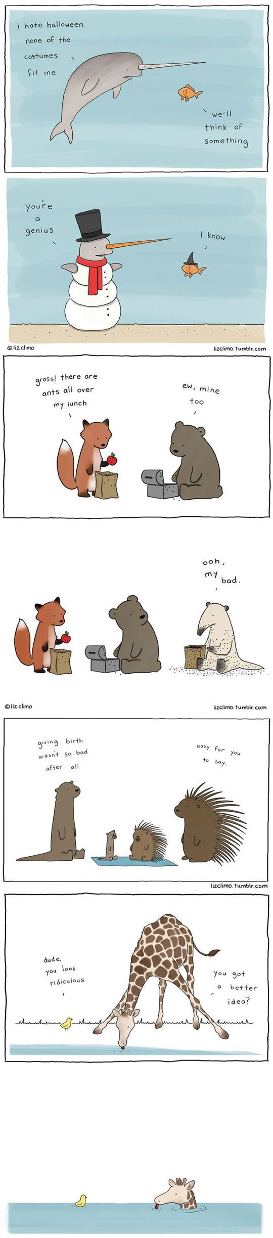 Animal Antics By Liz Climo.