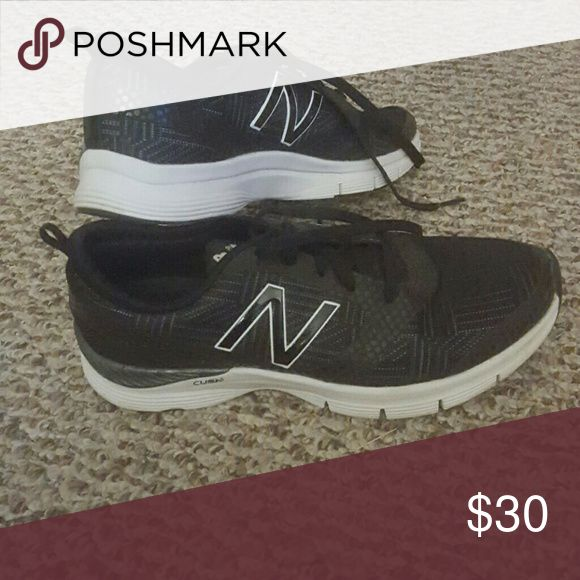 Black New Balance sneakers Lightly used black New Balance sneakers New Balance Shoes Athletic Shoes