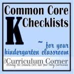 Common Core Checklists for Kindergarten (this post also includes first - sixth grade checklists!)  These are great for keeping track of the skill you have taught, retaught and assessed.  Make it easy to track your teaching!  And...they're FREE!