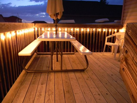 How to make your decking non slip - Decking can become treacherously slippery over the winter months so it's essential that you prevent accidents by making it non-slip. #HowTo #Make #Decking #NonSlip