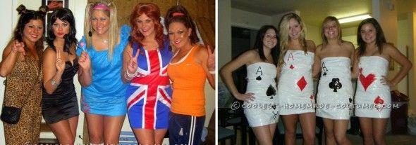 Halloween 35 costumes fabriquer toute seule comme une grande - Deguisement original fait maison ...