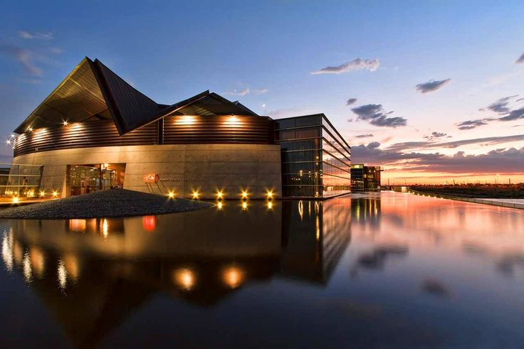 Building of the day - Tempe Center for the Arts West Rio Salado Parkway, Tempe, United States by Architekton http://www.archdaily.com/160142/tempe-center-for-the-arts-architekton