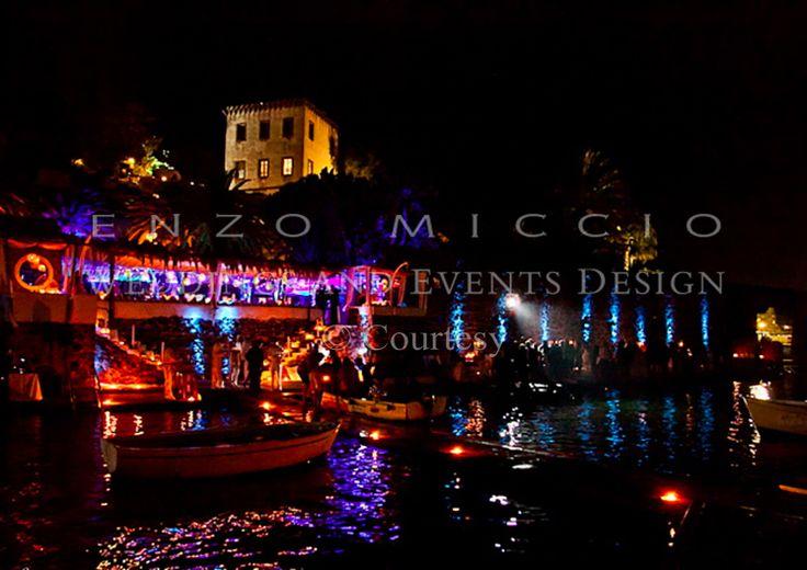 Wedding in Ischia #wedding #ischia #weddingplanner #weddingdress #enzomiccio #weddingcake #magicatmosphere #sea