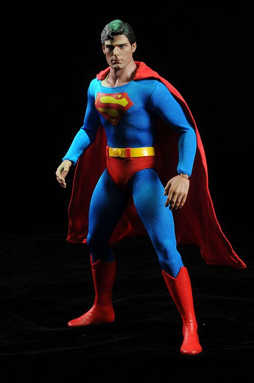 Christopher Reeve/Superman action figure by Hot Toys