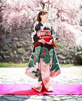 kimono 着物 婚礼衣装 引き振袖