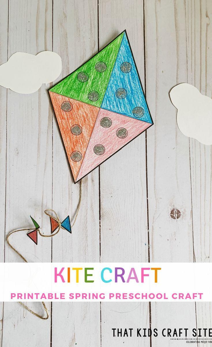 14 Photos Of Kite Template To Printer Kite Template Kites Craft