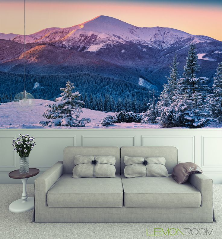 Fototapeta Góry zimą  >> http://lemonroom.pl/fototapeta-0-wyniki-wyszukiwania-131502665-Forest-on-a-hill-of-Hoverla.html