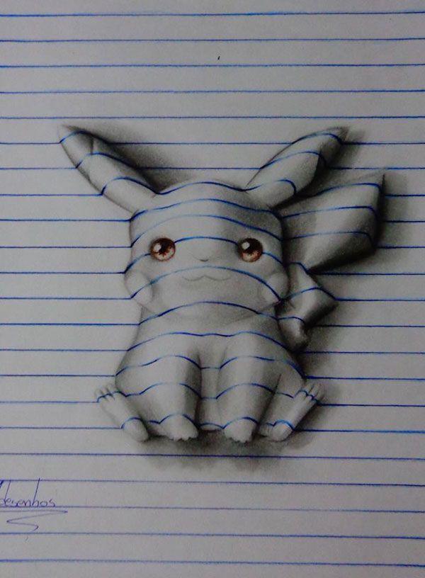 Linee-notebook- João Carvalho Brazilian artist 15 years