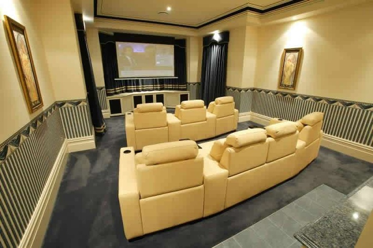 20 beautiful entertainment room ideas theater home and for Entertainment rooms ideas