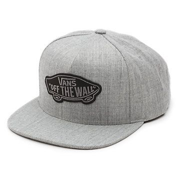 Classic Patch Snapback Hat..at off the wall, $26