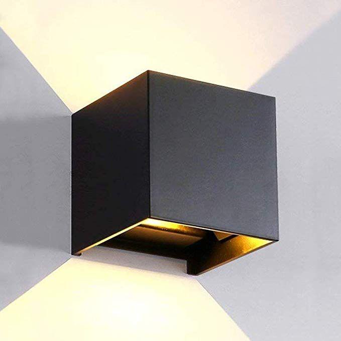 Amazon Com Lanfu Led Aluminum Waterproof Wall Lamp Waterproof Outdoor Light 6w 100 277v 3000k Adjustable Outdoo Wall Lights Wall Lamp Outdoor Sconce Lighting