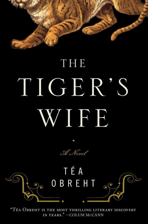The Tiger's Wife by Tea Obreht. On the book pile, waiting to be read.