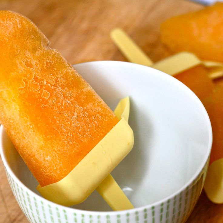Boozy Popsicles to Cool Down With This Summer - Nectarine bellini popsicles What you'll need: Nectarines or peaches, sugar, Champagne How many it makes: 4 Recipe: E is for Eat