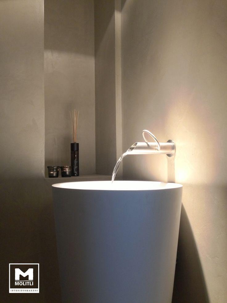 Welke Landelijke Badkamer ~ Badkamer @ Showroom Moliti interieurmakers #concrete #Betonstuc #Jee