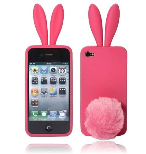 Capinhas De Silicone Coelhinho Iphone 3 E Iphone 4 - Rabito - $45.00