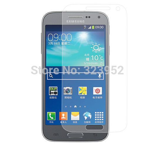For Samsung Galaxy Beam 2 SM-G3858 Clear Screen Protector Film 50pcs/lot Free Shipping