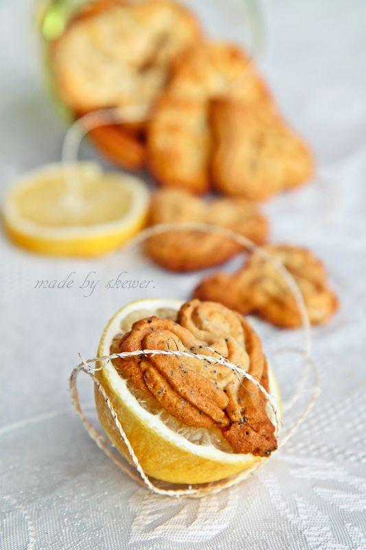 Лимонное печенье с маком.. Комментарии : LiveInternet - Российский Сервис Онлайн-Дневников