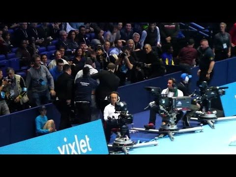 ATP World Tennis Championship Invasion Epic Fail 😞 - YouTube
