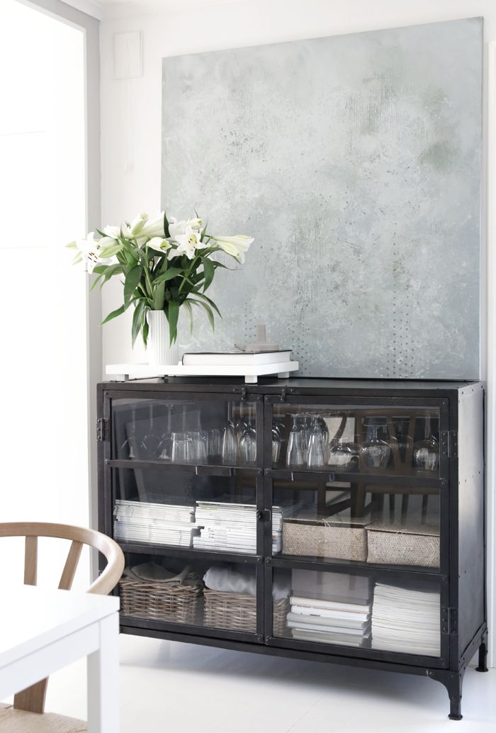 Gallery – By Nina Holst More kitchen storage solution...under the window