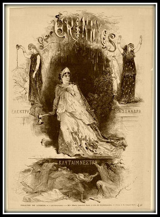 "Jules Massenet - ""Les Érinnyes"""