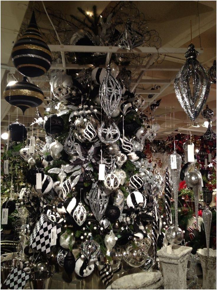 41 Beautiful Black And White Christmas Decor Ideas Homenthusiastic White Christmas Decor White Christmas Trees Black Christmas Trees