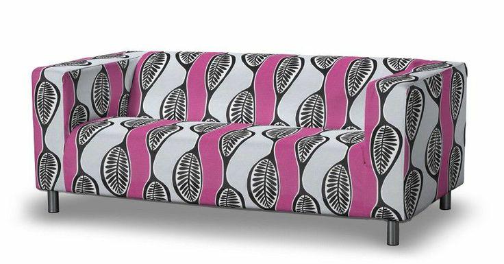 #Sofa #Klippan mit Retro-Muster