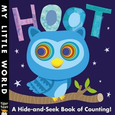 Hoot: A Hole-Some Book of Counting by Fhiona Galloway. The latest in the My Little World series.