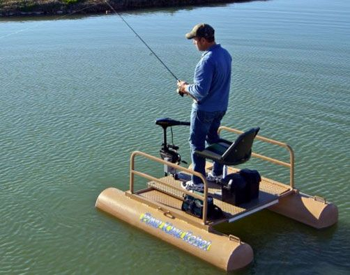 Pontoon boats pond king fishing pinterest king and for Pond fishing boats