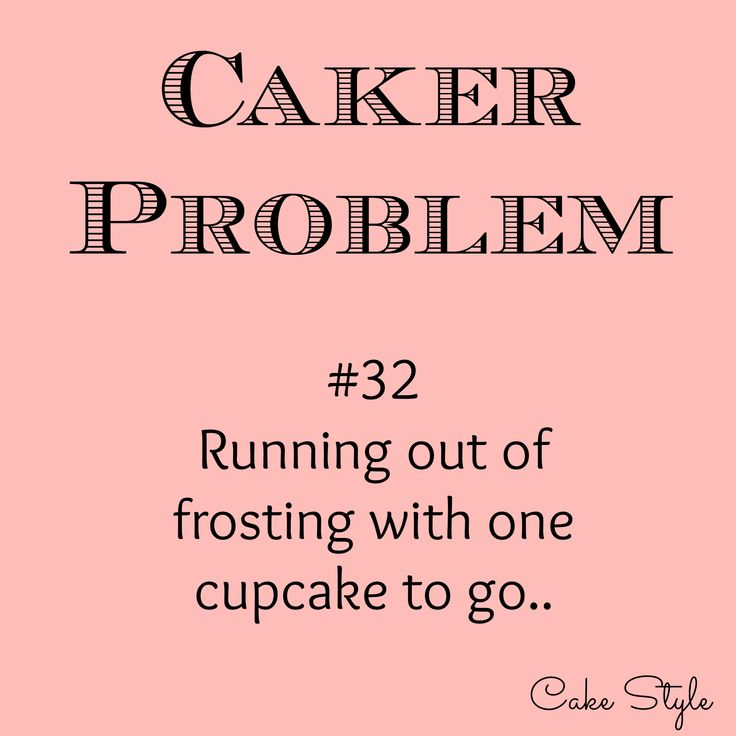 Sadly I've had to make a trip to the store to get more butter or sugar, just for a cuppie or two. Has this happened to you? Please tell me I'm not alone.. #cakerproblems