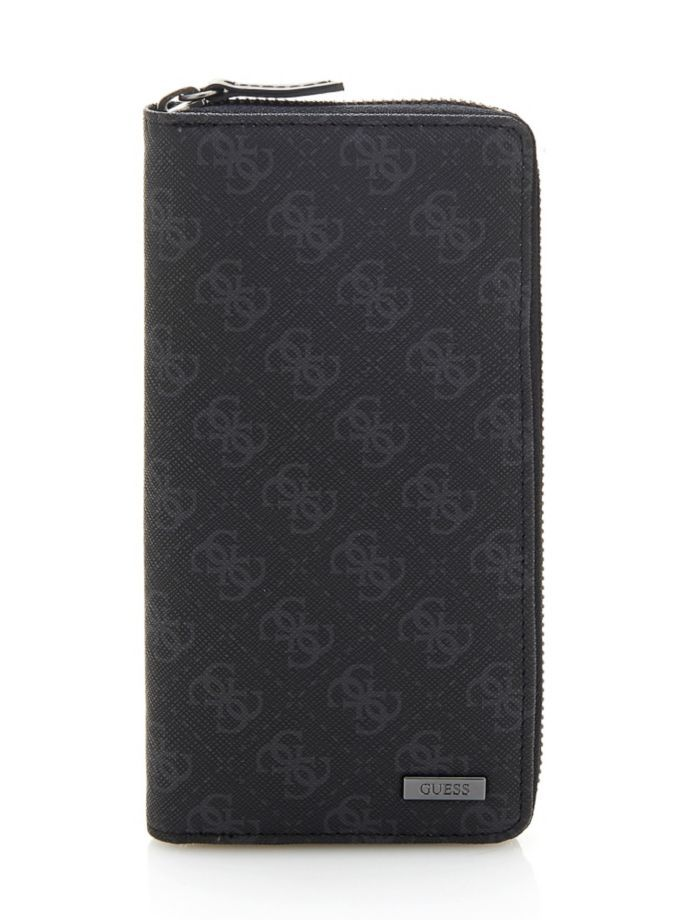 EUR95.00$  Buy now - http://visof.justgood.pw/vig/item.php?t=tmwdobs20417 - MYSELF 4G LOGO ZIP WALLET