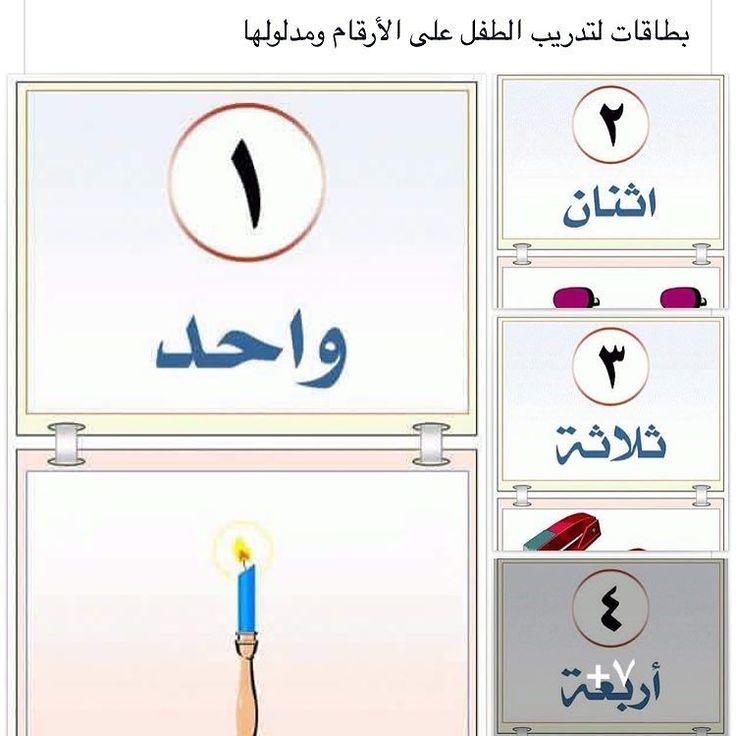 وسائل تعليمية مبتكرة On Instagram بطاقات الأرقام ومدلولها جاهزة للتحميل المنهج الوطني الجديد وسائل تعليمية الصف الأو Teach Arabic Cvc Words Ramadan Kareem
