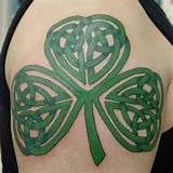 celtic clover tattoo. celtic clover tattoo. Celtic Knot Shamrock ...