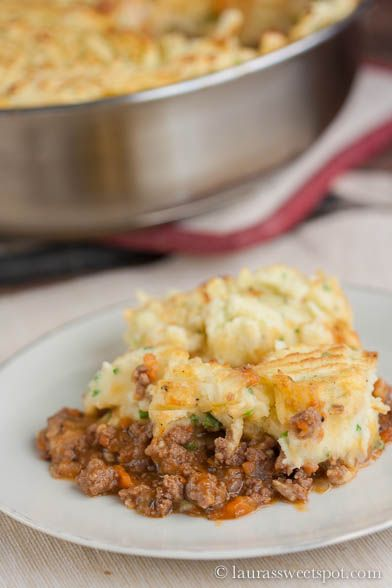 This Shepherd's Pie is super flavorful! One of the best I've ever had for sure.