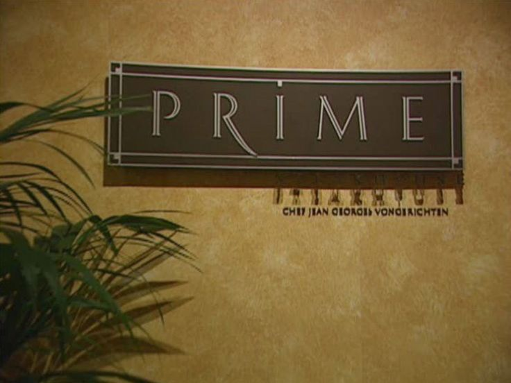 Las Vegas: Prime Steakhouse  : One word describes Prime Steakhouse better than any other: lavish. To get to the restaurant, once inside the Bellagio Las Vegas, one must make a right past Hermès to Via Bellagio, then go down the escalator toward Terrazza di Sogno, just after the Harry Winston store. The eatery is as upscale as its surrounding brands. Designed by Michael DeSantis, the dining room combines layers of rich chocolate browns (from wood accents to the velvet-clad armchai...