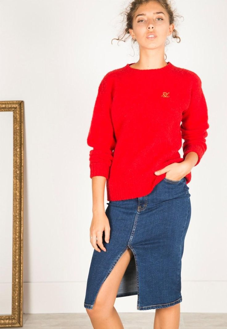 Vintage 80's POLO RALPH LAUREN Knit jumper / S3484 | Avelinas Vintage | ASOS Marketplace
