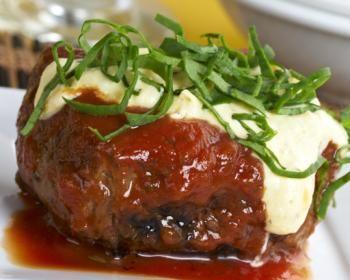 Receta para preparar Lomo de res a la napolitana con queso con instrucciones e ingredientes de Daniela  Quintana en Cocina33