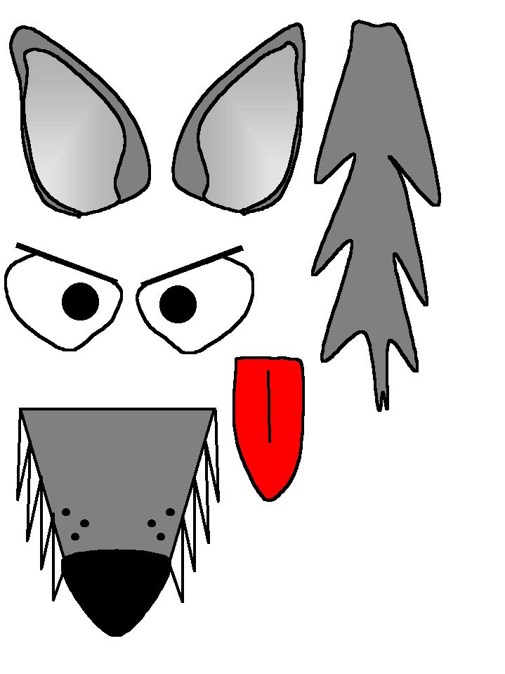 Wolf Craft Printable                                                                                                                                                                                 More