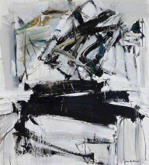 Painting by Joan Mitchell, 1958