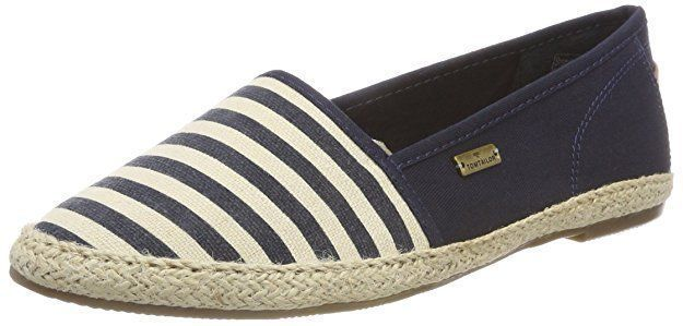 Tom Tailor Damen 4892007 Espadrilles Blau Navy 36 Eu Schuhe Damen Schuhe A Flache Schuhe Schuhe Blau Damen E Schuhe Damen Damenschuhe Espadrilles