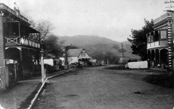 pauatahanui township at the turn of the century.