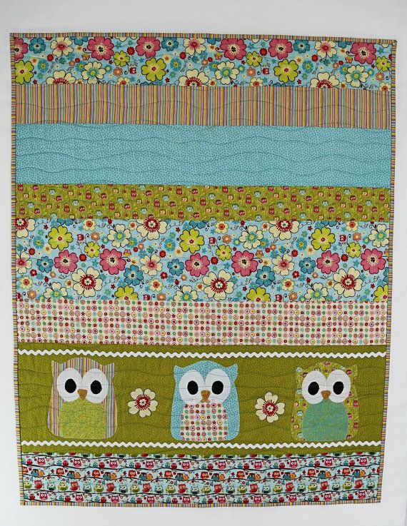 Best 25+ Owl baby quilts ideas on Pinterest | Owl quilts, Baby ... : baby quilts on etsy - Adamdwight.com