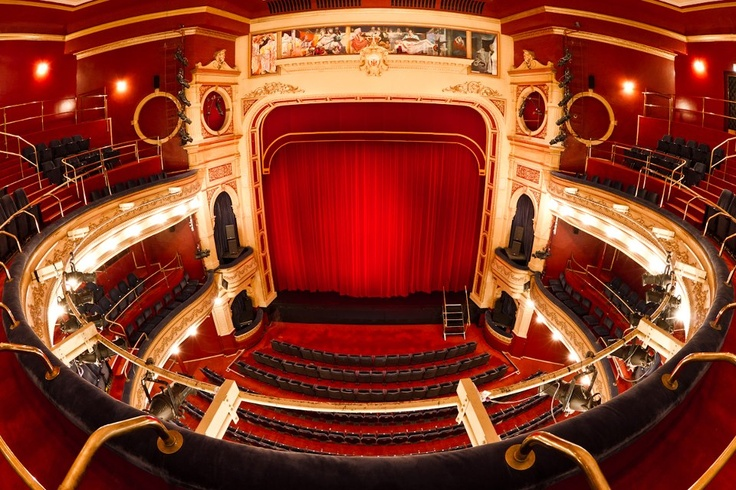 Inside His Majesty's Theatre, Perth, Western Australia.  Saw loads of opera and ballet here.