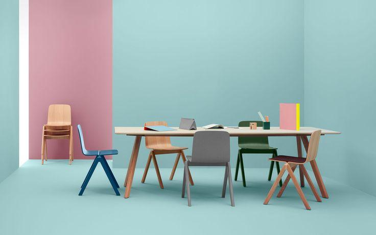 Copenhague table Ronan & Erwan Bouroullec | Hay