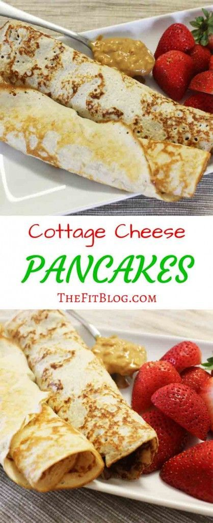low carb cottage cheese pancakes recette pancakes pinterest gaufres collations et cr pe. Black Bedroom Furniture Sets. Home Design Ideas