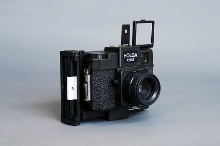 Holgaroid - Holga 120 with Fuji Instant Film Conversion. I