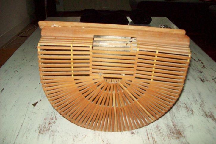 Aparte tas van bamboe hout    u20ac 10,00   Marktplaats  u2981 Producten   Pinterest   Van
