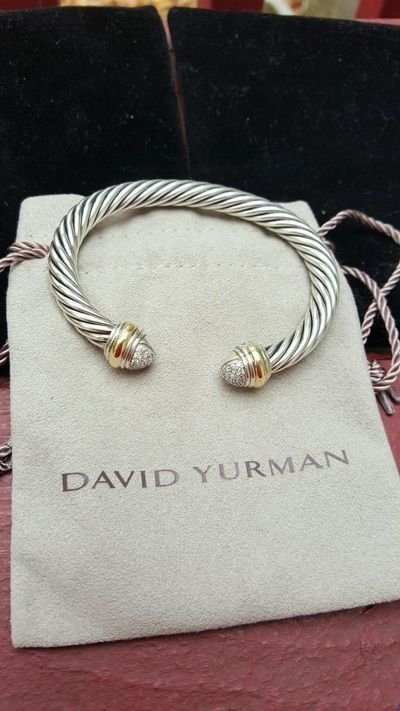 Pave Diamond w/ that tiny dash of gold is pretty or just plain silver is good too! Must be 7mm or larger though! Pink Morganite Yurman is always a fav of mine also! Who doesn't fall in love with Yurman?!